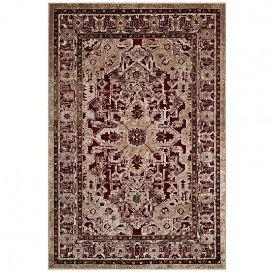 Grania Ornate Vintage Floral Turkish Rug photo