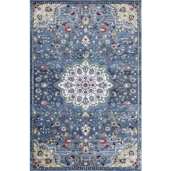 Rhapsody RH11-113 Polypropylene Floral Rug photo