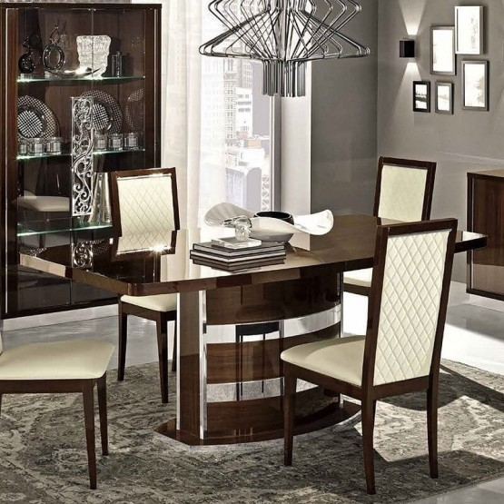 Roma Dining Table w/18
