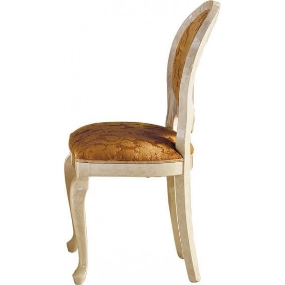 Melodia Classic Fabric Dining Side Chair photo