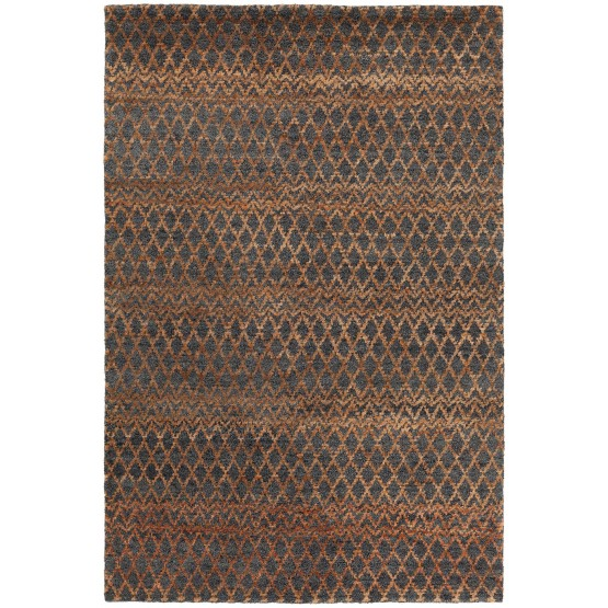 Selene Wool/Jute Rectangular Geometric Handmade Rug photo