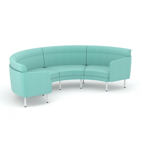 Arcipelago Four Seater Curved Sofa photo