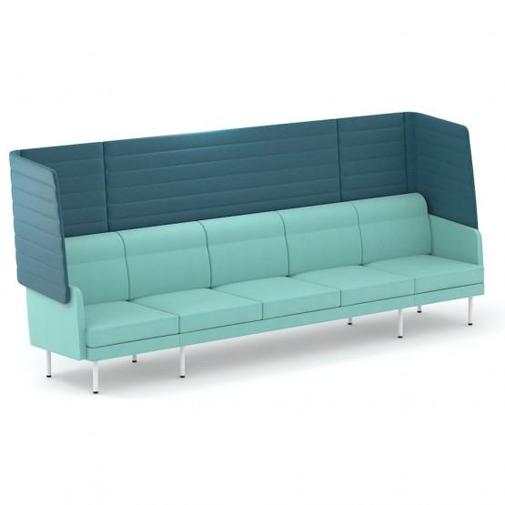 Arcipelago Five Seater Modular Sofa with Highback photo