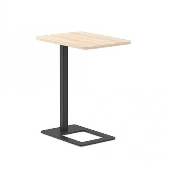 Mobi Mobile Office Coffee Table w/Metal Base photo