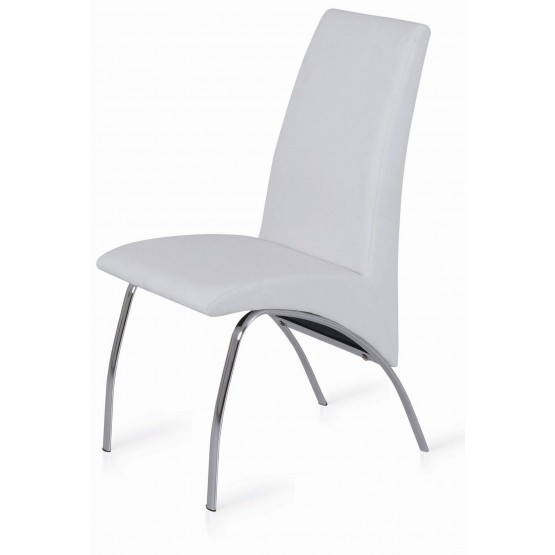 Side-450 Dining Chair, White photo