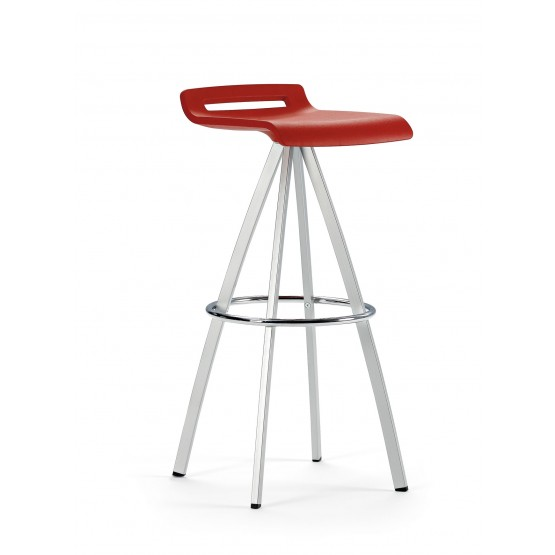 Mit Polypropylene Office High Stool photo