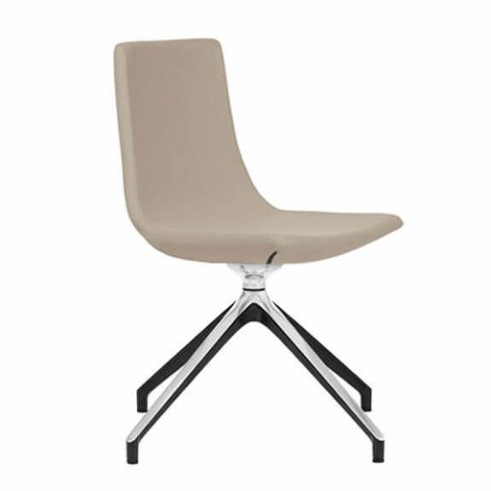 North Cape Low Back Armless Meeting Chair, Swivel 4-leg Base photo