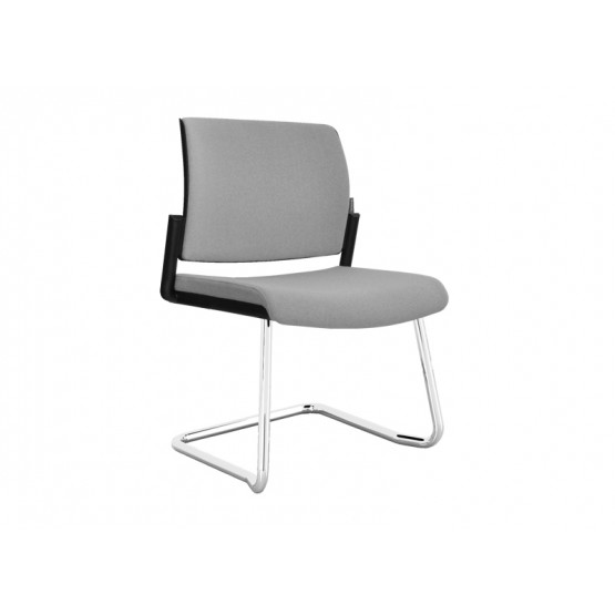 Aura Visitor Chair, Wire Steel Frame photo