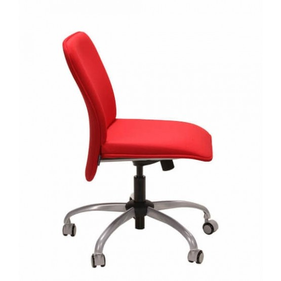 Verso Armless Office Chair, Low Back photo
