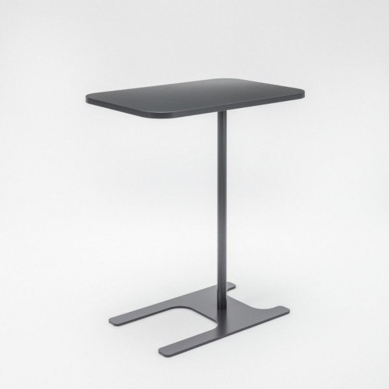H Leg Coffee Table w/Metal Base photo