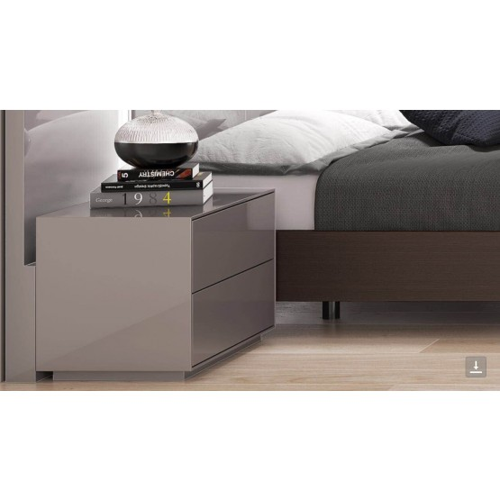 NS-102 Two Drawer Nightstand photo