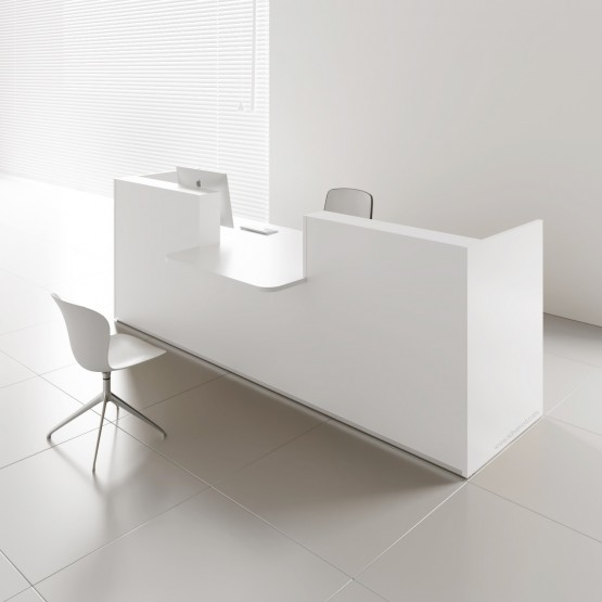 TERA Countertop Large Reception Desk, ADA Compilance photo