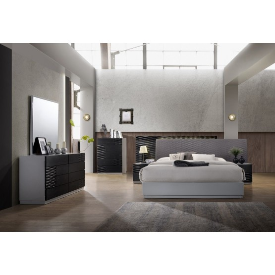 Tribeca Modern Premium Panel Bedroom Set photo