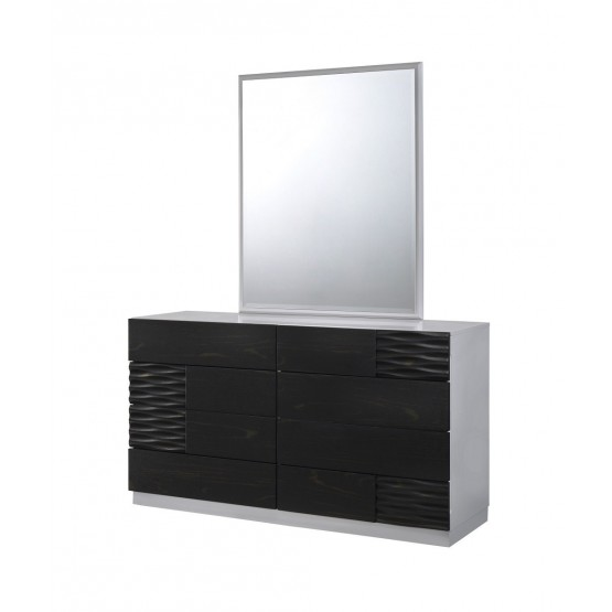 Tribeca Premium Glossy Dresser with Mirror photo