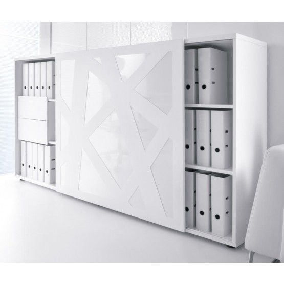 Standard ZS01 Managerial Storage Cabinet w/Sliding Door photo