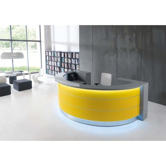 VALDE C Shaped Reception Desk photo
