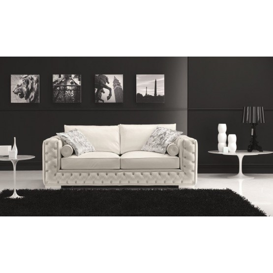 The Vanity Leather Sofa photo