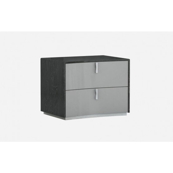 Vera Modern Wood Nightstand photo
