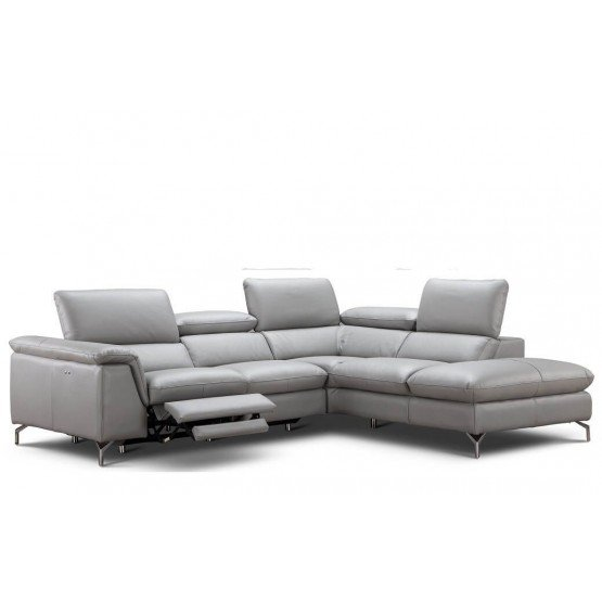 Viola Premium Leather Sectional photo