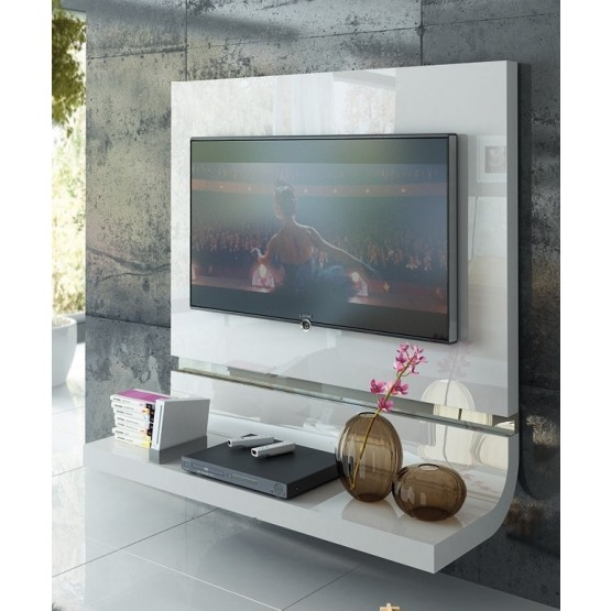 Granada Wood/Wood Veneer TV Panel photo