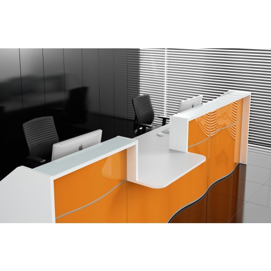 WAVE Linear Reception Desk photo