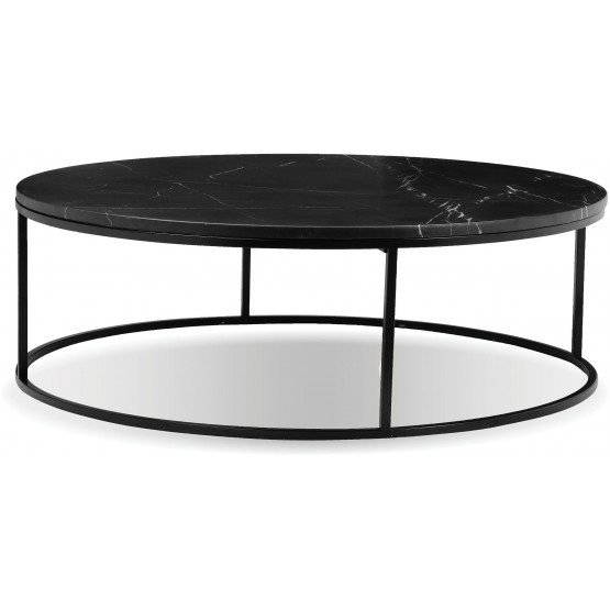 Onix Round Marble Coffee Table photo