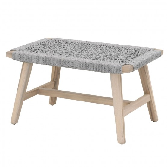 Weave Outdoor Accent Stool photo