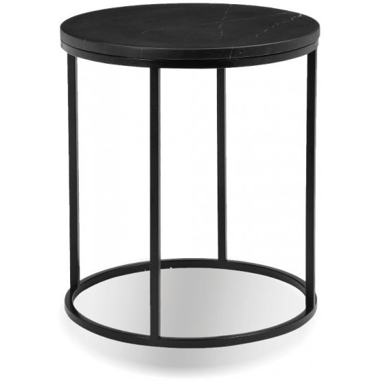 Onix Round Marble End Table photo