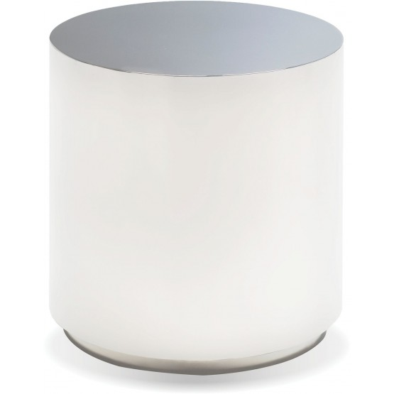 Sphere Steel End Table photo