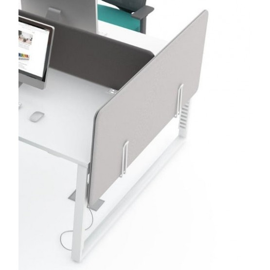 Sonic Side Acoustic Screen for Desk Bench photo