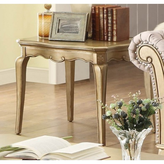 Chambord Wood End Table photo