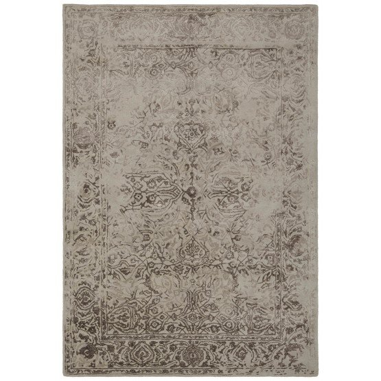 Zina Wool/Viscose Rectangular Handmade Rug photo