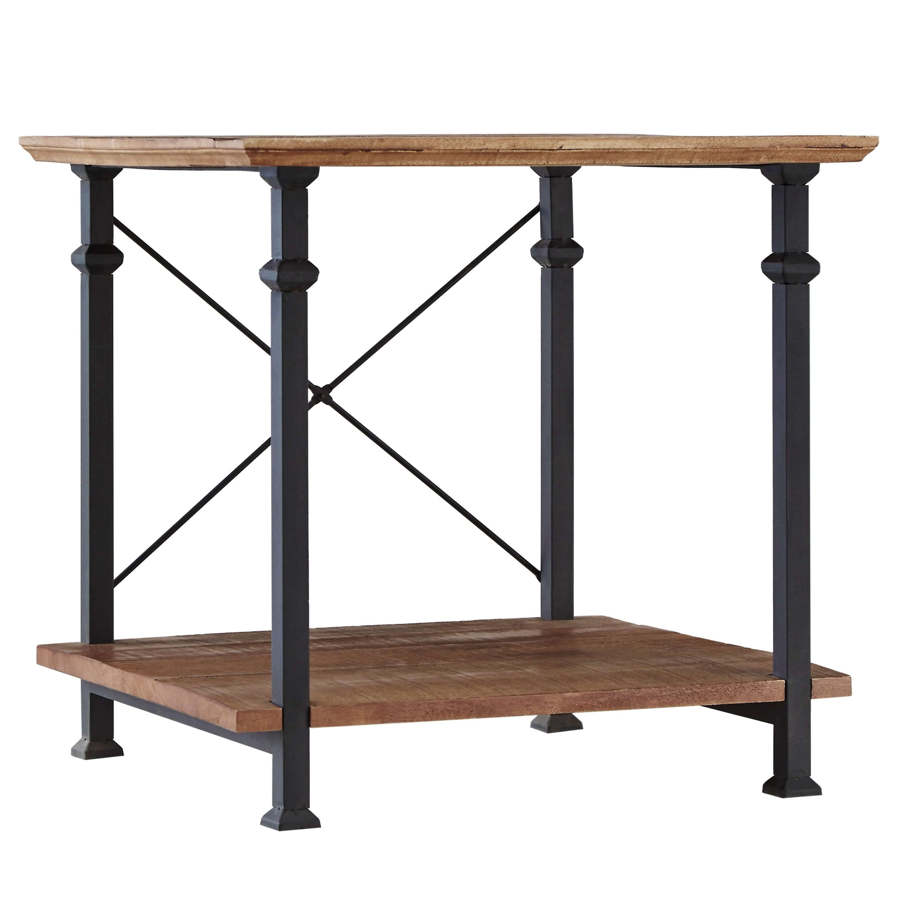 Picture of: Factory Wood End Table Brown By Homelegance Sohomod Com