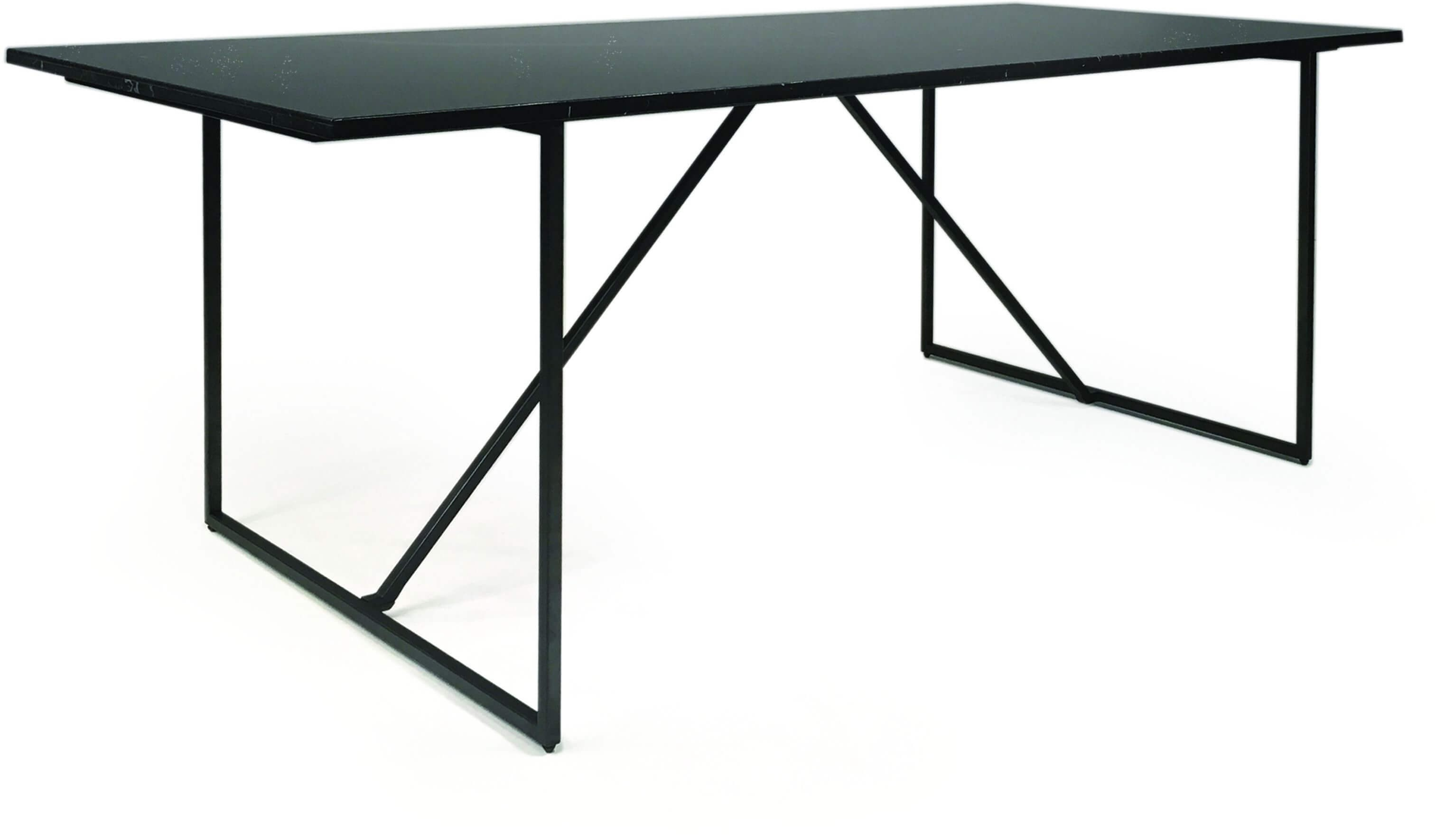 Stonewall Marble Top Dining Table Black By Mobital Sohomod Com
