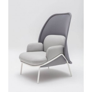 Mesh Medium Back Lounge Chair