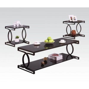 Milo Occasional Table Set (Coffee Table + 2 End Tables) by ACME
