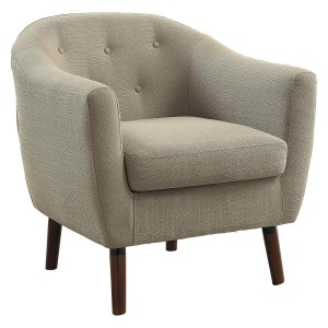 Lucille Fabric Accent Chair by Homelegance