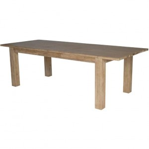 "Bedford Butterfly Dining Table w/20"" Ext., Brushed Smoke by NPD (New Pacific Direct)"