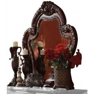 Dresden Wood Beveled Mirror