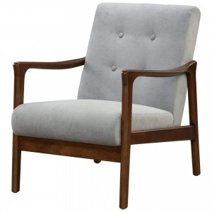Nicholas KD Fabric/MDF/Wood Accent Chair