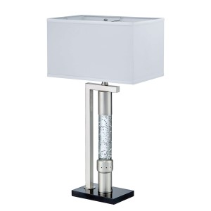 Jalen Metal/Fabric Table Lamp by Homelegance