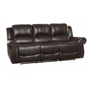 Annapolis Leather Sofa by Homelegance