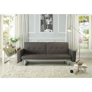 Crispin Fabric Sofabed by Homelegance