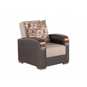 Mobimax Chair, Brown by Casamode