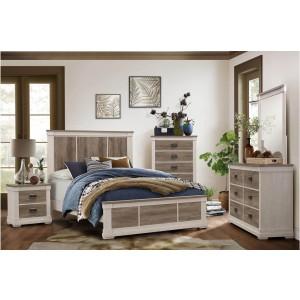 Arcadia Wood Bedroom Set by Homelegance