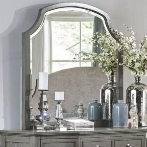 Albright Classic Wood Veneer Mirror