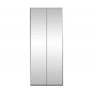 Platinum 2-Door Wardrobe w/Mirrored Doors