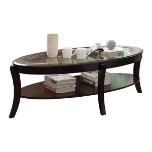 Pierre Glass Coffee Table by Homelegance