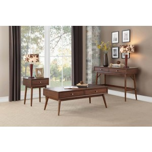 Frolic Wood Occasional Table Set by Homelegance