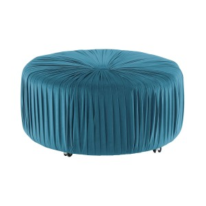 Jaunt Fabric Ottoman by Homelegance